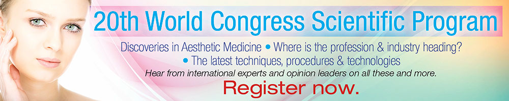 The 20th World Congress of Aesthetic Medicine - 2015 (Program)