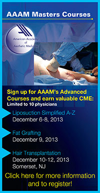 Level 1 Certificate Course in Aesthetic Medicine